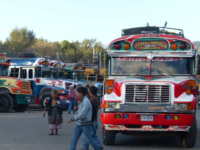 Chicken Buses, Guatemala